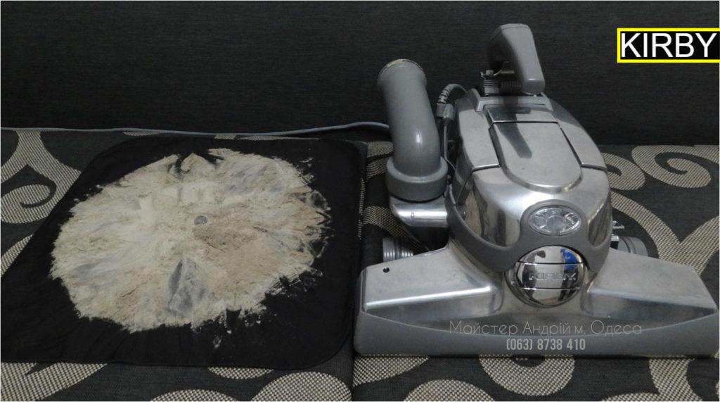 10 Чистка дивана пылесосом KIRBY Одесса