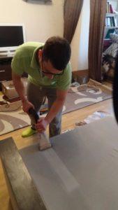 Химчистка диванов в Одессе на дому